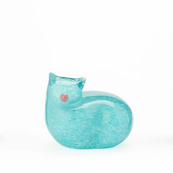 St. Jude Glass Cat Objects