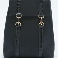 Square Dog Clip Backpack - Urban Outfitters