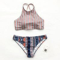 Redolent Of The Ocean Tank Bikini Set