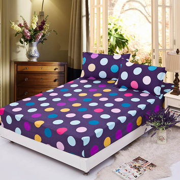 bedding rubber sheet elastic bed cover summer mattress cover cushion cover bedclothes bedspread water culb bed sheet piilowcase