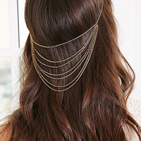 Layered Chain Head Piece