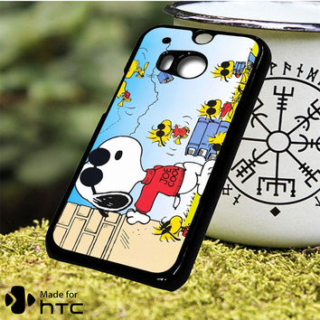 Snoopy Joe Cool HTC One M7, One M8, One M9, One M9 Plus, One M10 Case