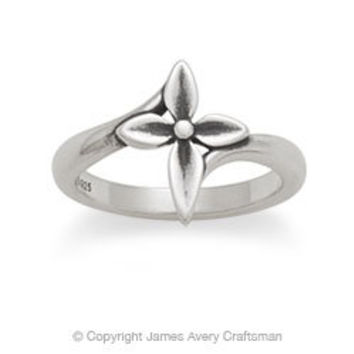 Blossom Cross Ring from James Avery