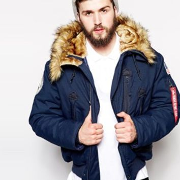 Alpha Industries Cropped Polar Jacket
