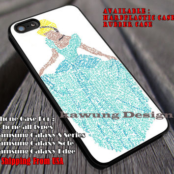 Princess Quotes, Cinderella Quote, Disney Princess, case/cover for iPhone 4/4s/5/5c/6/6+/6s/6s+ Samsung Galaxy S4/S5/S6/Edge/Edge+ NOTE 3/4/5 #cartoon #animated #disney #cinderella ii