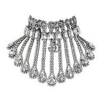 Gucci Metal necklace with crystals