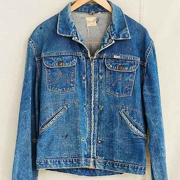 Vintage Denim Wrangler Jacket- Assorted One
