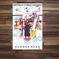 Summer Wars Poster Official Art High Quality Print Summer Wars Anime Poster