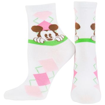 Mickey Mouse - Argyle Socks