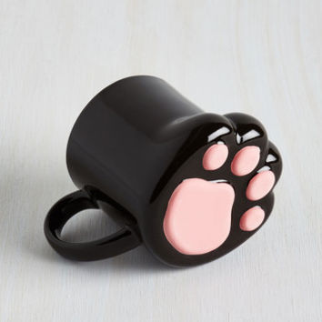 Cats Pawsitively Bemused Mug by ModCloth