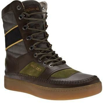 puma black label by alexander mcqueen leather boot  number 1