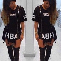 HBA Zippered Top