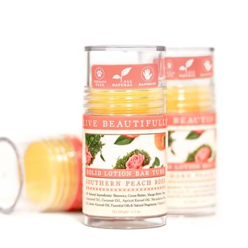 Southern Peach Rose - Hydrating Lotion Bar