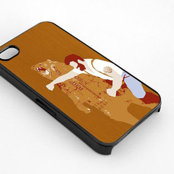 men hit the bear for iphone 4/4s case, iphone 5/5s/5c case, samsung s3/s4 case cover