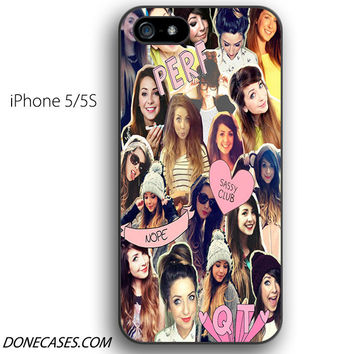 zoella collage iPhone 5 / 5S Case