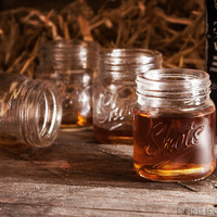Finally! Shot Glasses To Match Your Mason Jar Drinkware