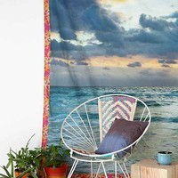 Plum & Bow Sky Circle Tapestry