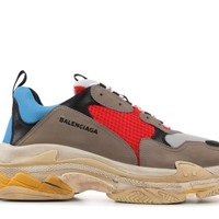 Balenciga Triple S (yellow, blue and red )