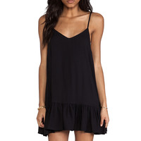 One Teaspoon Pinkie Mini Tank Dress in Black