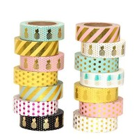 VOND4H Pineapple Fruit  Washi Tape