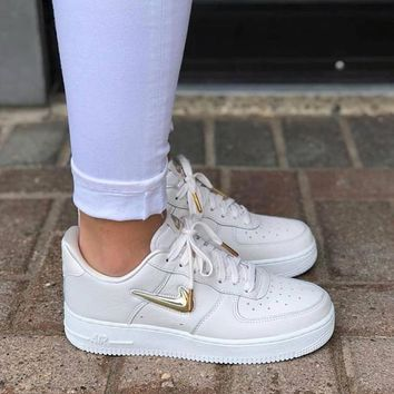 Nike Air Force 1 Low Jewel Light extravagant gold medal air force No.1 casual shoes-1