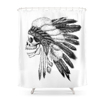 Society6 Native American Shower Curtains