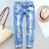 Driftwood Distressed Jeans