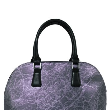 Taupe Stone Bowler Insulated Lunch Handbag