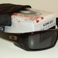 Sunglassees Gascan Polarized₅Oakley#&Polished Black Frame Grey Lenses