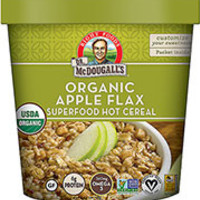 Dr. McDougall's Organic Gluten Free Apple Flax Superfood Hot Cereal - Pack of 6
