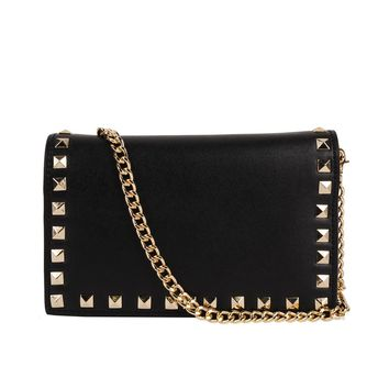 INZI Studded Clutch