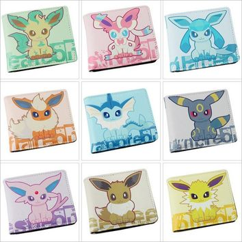 Pokémon Eevee Evolution Bifold Wallet