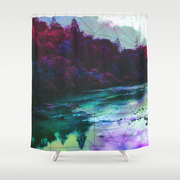Terrarium Shower Curtain by DuckyB (Brandi)