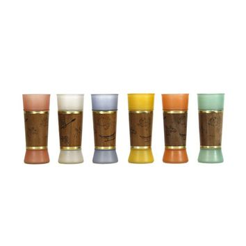 Pre-owned Siesta Ware Drinking Glasses - Set of 6