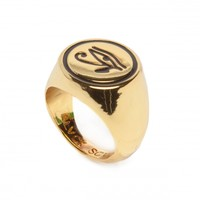 EYE OF RA RING GOLD WOMENS