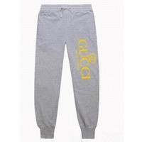 Gucci Fashion Casual long sweatpants same style man and woman G