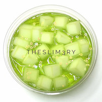 Granny Smith Jelly Cube Slime - THESLIM3RY