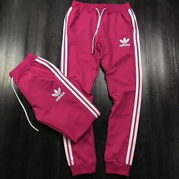 ADIDAS Clover men and women models tide brand fashion classic sports beam foot harem pants F-AA-XDD