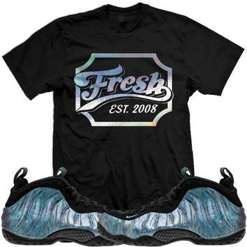 Abalone Foamposites Sneaker Tees Shirt - FRESH CHEERS