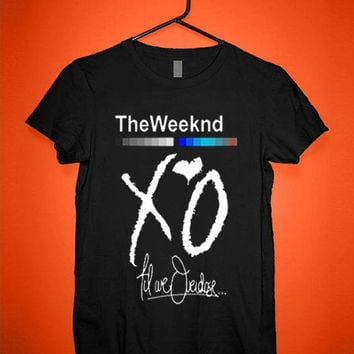 XO The Weeknd Drake YMCMB tshirt for merry christmas and helloween