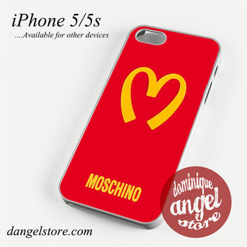 Moschino Logo Phone case for iPhone 4/4s/5/5c/5s/6/6s/6 plus