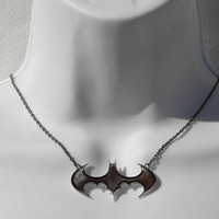 Batman Arkham Asylum Necklace by PlayBox on Etsy