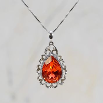 Shop Vintage Swarovski Crystal Necklaces on Wanelo dd79395174