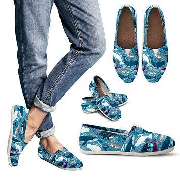 Whale Party Casual Shoes