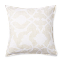 Barbara Barry Poetical Pillow - Cream/Tan
