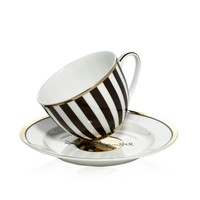 Henri Bendel Tea Cup & Saucer Set