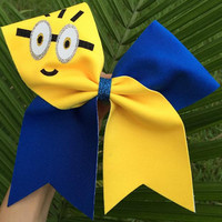 Minion Cheer Bow