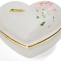 Intrada Italy Italian Crystal Heart Box - PO11