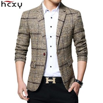 New Arrival Brand Clothing Jacket spring Suit Jacket Men Blazer Fashion Slim Male Suits Casual Blazers Men Size M-5XL