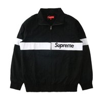 17/ss New Supreme Motion Logo Mixed colors Classic Hooded Size M-XL Mens jacket